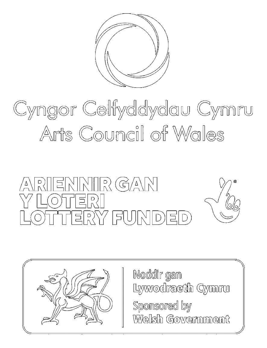 Arts Council Cymru logo