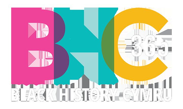 Black History Cymru logo